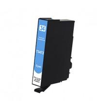 Compatibile rigenerato garantito 100% Epson cartuccia ink T3472 CIANO