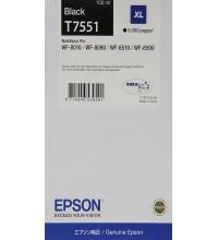 Cartuccia d'inchiostro Epson T7551 nero XL circa 5.000 pagine