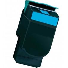Toner compatibile rigenerato garantito 100% Lexmark CS317 CIANO 2300 PAGINE