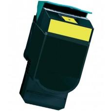 Toner compatibile rigenerato garantito 100% Lexmark CS317 GIALLO 2300 PAGINE