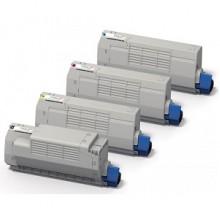 Toner compatibile rigenerato garantito 100% OKIC853BK NERO per OKI MC853dnct,MC873dnct,MC873dnv