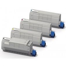 Toner compatibile rigenerato garantito 100% OKIC853Y giallo per OKI MC853dnct,MC873dnct,MC873dnv