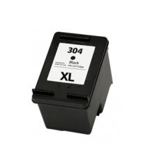 Compatibile rigenerato garantito HP 304 (N9K08AE 304 XL) Cartuccia nero
