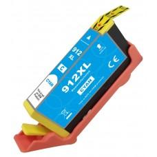 Cartuccia compatibile rigenerato garantito 100% con HP 912 xl Ciano