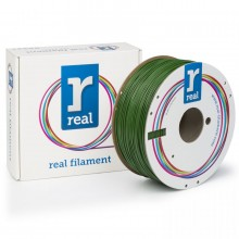 ABS filament Verde 1.75 mm / 1 kg Real