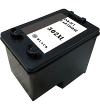 Compatible remanufactured HP ink cartridge Black 302 XL about 330 pag.