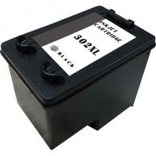 Compatibile rigenerato garantito per HP 302 XL nero Cartuccia d'inchiostro