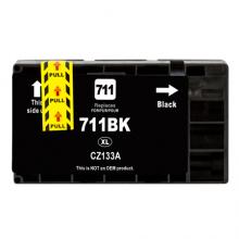 HP Cartuccia d'inchiostro nero CZ133A 711 75ml compatibile rigenerato garantito