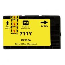 HP Cartuccia d'inchiostro giallo CZ132A 711 Compatibile rigenerato garantito