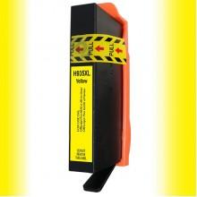 Cartuccia compatibile rigenerata garantita d'inchiostro 935 XL Giallo