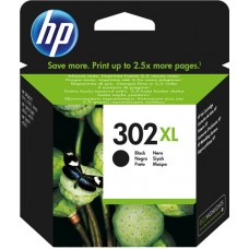 HP Cartuccia d'inchiostro nero F6U68AE 302 xl  Circa 480 Pagine