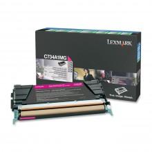 Lexmark originale toner magenta C734A1MG circa 6000 pagine riutilizzabile