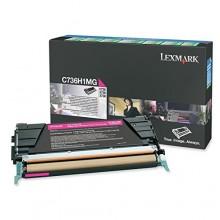 Lexmark originale toner magenta C736H1MG circa 10000 pagine riutilizzabile