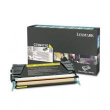 Lexmark originale toner giallo C736H1YG circa 10000 pagine riutilizzabile