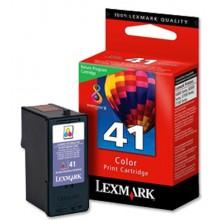 Lexmark originale Cartuccia d'inchiostro colore 18Y0141E 41 circa 210 pagine