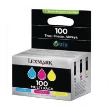 Lexmark originale Cartuccia d'inchiostro c/m/y 14N0849 100 circa 200 pagine pacco con 3 pezzi