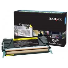 Lexmark originale toner giallo X748H1YG X748 circa 10000 pagine riutilizzabile