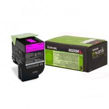 Lexmark originale toner magenta 80C2XM0 802XM circa 4000 pagine riutilizzabile