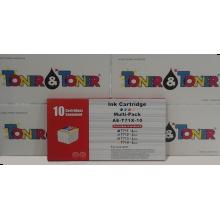 T0711 + T0712 + T0713 + T0714 Multipack Epson compatibile rigenerato garantito