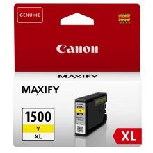 Canon Cartuccia d'inchiostro giallo PGI-1500y XL 9195B001 capacità 935 pagine 12ml