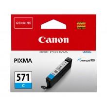 Canon Cartuccia d'inchiostro ciano CLI-571c 0386C001 6.5ml