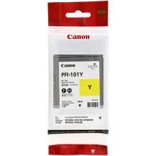 Canon Cartuccia d'inchiostro giallo PFI-101y 0886B001