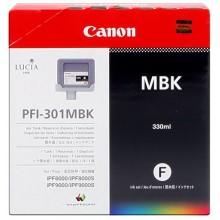 Canon Cartuccia d'inchiostro nero (opaco) PFI-301mbk 1485B001 330ml