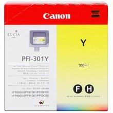Canon Cartuccia d'inchiostro giallo PFI-301y 1489B001 330ml