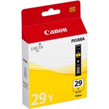 Canon Cartuccia d'inchiostro giallo PGI-29y 4875B001 36ml per circa 1.420 foto (Formato 10 x 15 cm)