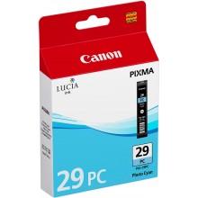 Canon Cartuccia d'inchiostro ciano (foto) PGI-29pc 4876B001 36ml per circa 1.445 foto (Formato 10 x 15 cm)
