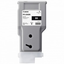 Canon Cartuccia d'inchiostro nero PFI-206bk 5303B001AA 300ml