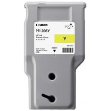 Canon Cartuccia d'inchiostro giallo PFI-206y 5306B001AA 300ml