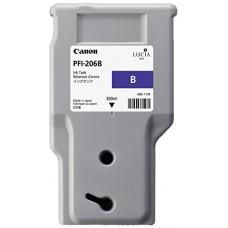 Canon Cartuccia d'inchiostro blu PFI-206b 5311B001AA 300ml