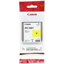 Canon Cartuccia d'inchiostro giallo PFI-106y 6624B001 130ml