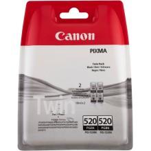 Canon Multipack nero PGI-520BK TwinPack 2932B012 Cartuccie inchiostro, Confezione doppia