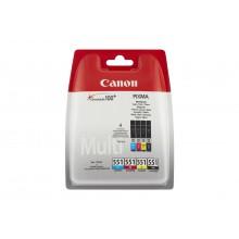 Canon Multipack nero/ciano/magenta/giallo Multipack CLI-551 cmybk 6509B009 confezione multi: bk/c/m/y