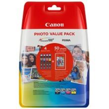 Canon Value Pack nero/ciano/magenta/giallo CLI-526 Photo Value Pack 4540B017