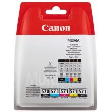 Canon Multipack nero/ciano/magenta/giallo PGI-570 + CLI-571 Multi 0372C004