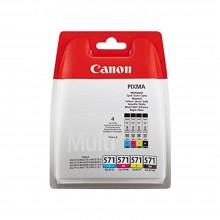 Canon Multipack nero/ciano/magenta/giallo CLI-571 Multi 0386C005