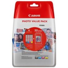 Canon Value Pack nero/ciano/magenta/giallo CLI-571 Photo Value Pack 0386C006