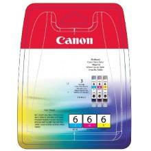 Canon Multipack ciano/magenta/giallo BCI-6x 4706A022 confezione multi