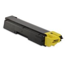 Toner Compatibile rigenerato garantito 100% Kyocera TK590 Giallo (circa 5000 pagine)