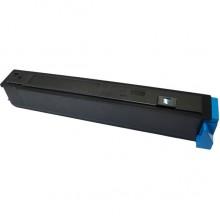 Toner Compatibile rigenerato garantito 100% Kyocera TK810/811Ciano (circa 20000 pagine)