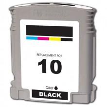 HP 10 C4844A Cartuccia compatibile rigenerato garantito 100% Nero