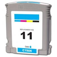 HP 11 C4836A Cartuccia compatibile rigenerato garantito 100% Ciano