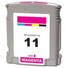 HP 11 C4837A Cartuccia compatibile rigenerato garantito 100% Magenta