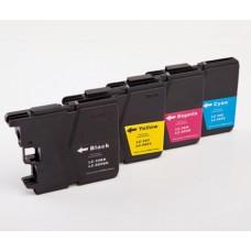 Multipack Compatibile rigenerato garantito LC 39 - LC 985 - LC 975  Brother