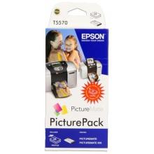 Epson Value Pack differenti colori C13T557040BH T5570 Set di cartucce