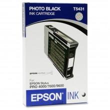 Epson Cartuccia d'inchiostro nero (foto) C13T543100 T543100 110ml
