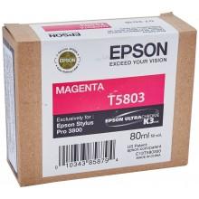 Epson Cartuccia d'inchiostro magenta C13T580300 T5803 80ml